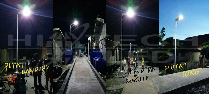 Philippines all in one solar street light
